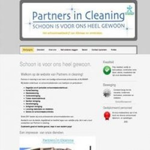 Partners in Cleaning logo