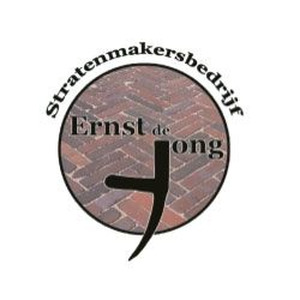 Ernst de Jong Stratenmakersbedrijf logo