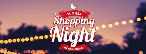 Shopping Night Middenwaard op 25 mei