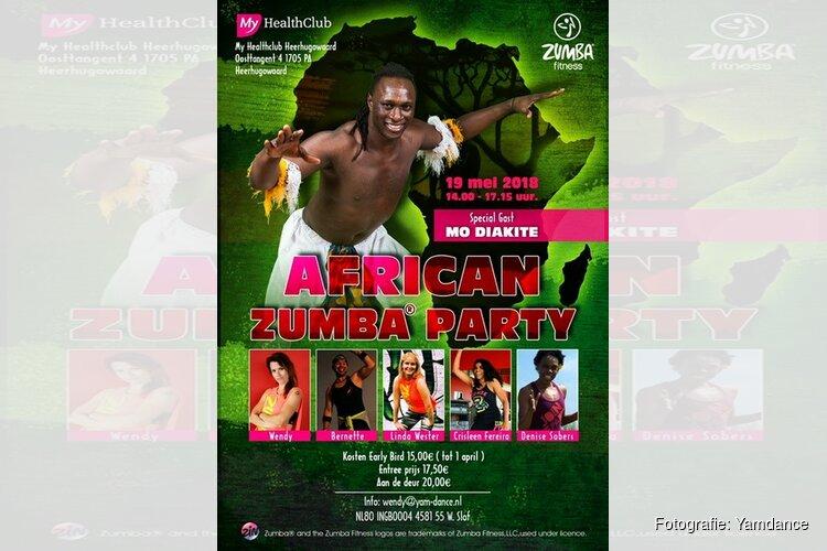 African Zumba Party bij My Healthclub Heerhugowaard