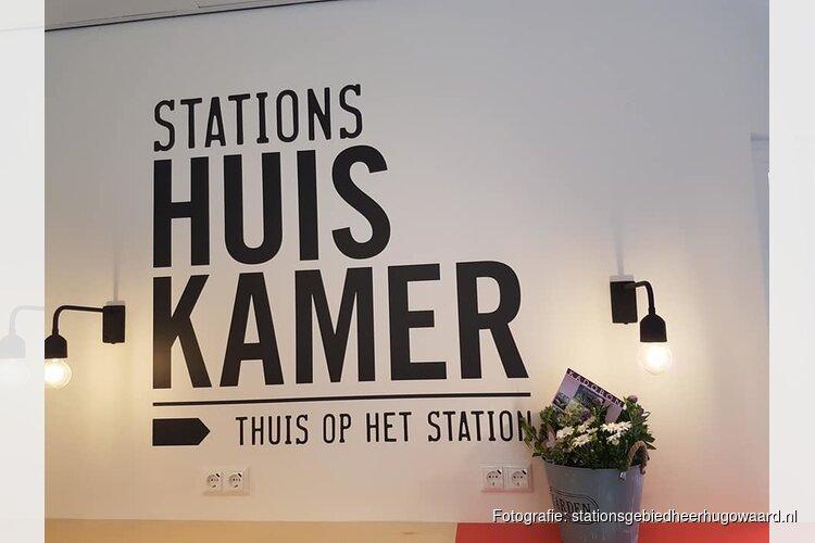 Stationshuiskamer feestelijk geopend