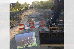 Gemeente Heerhugowaard bezorgd om vernielingen bij werkzaamheden Middenweg