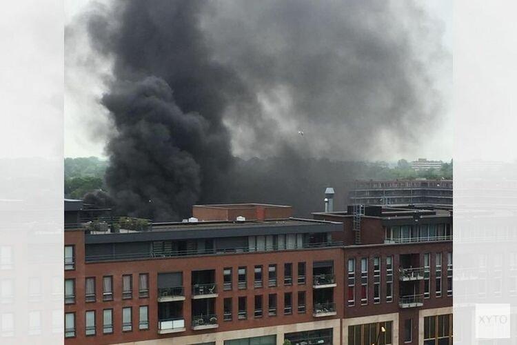 Winkelcentrum Middenwaard vandaag weer open na brand