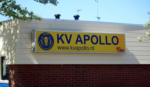 KV Apollo speelt zich op slotdag veilig