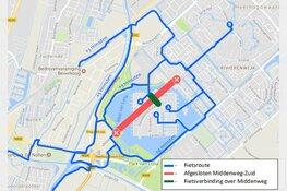 Gemeente gaat doorgaansverbod Middenweg-Zuid handhaven