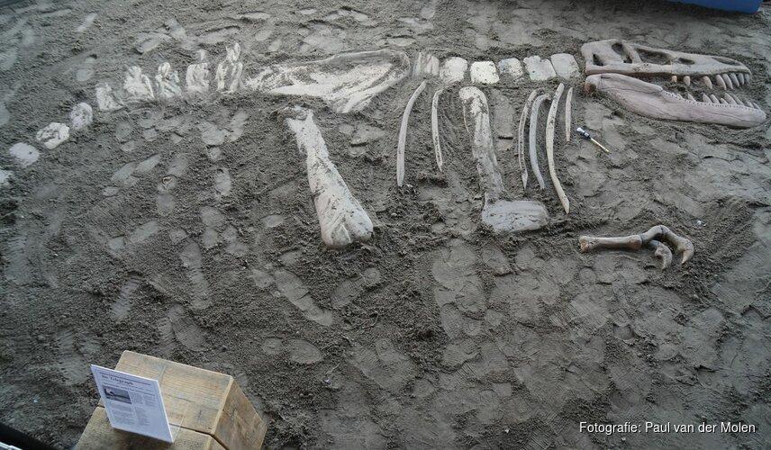 Gigantische dinosaurus opgegraven bij Vue Heerhugowaard: Nieuwe Jurassic World is uit!