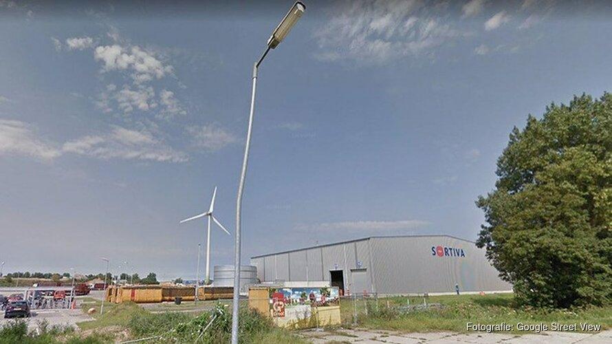 Brand bij recyclingbedrijf in Alkmaar
