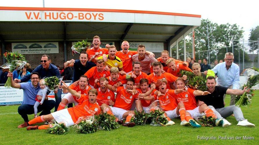 Promotie een mooie beloning voor Hugo Boys