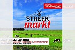 Streekmarkt & Diverse wateractiviteiten bij Middenwaard op zaterdag 30 juni 2018