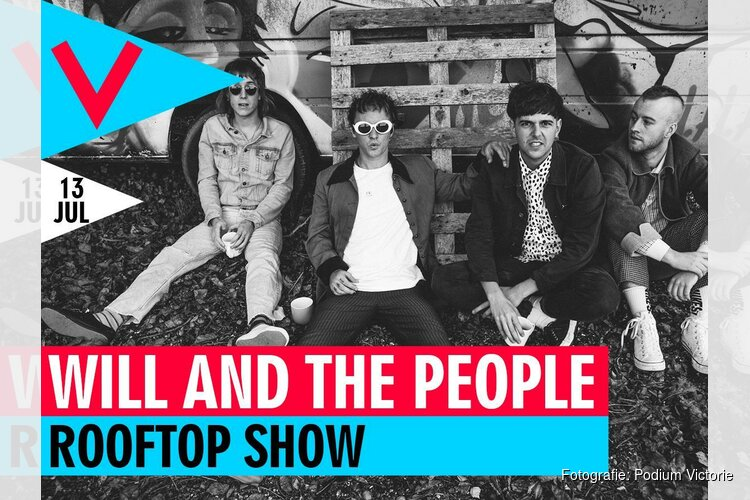 Will and the People geven Rooftop Show op 13 juli