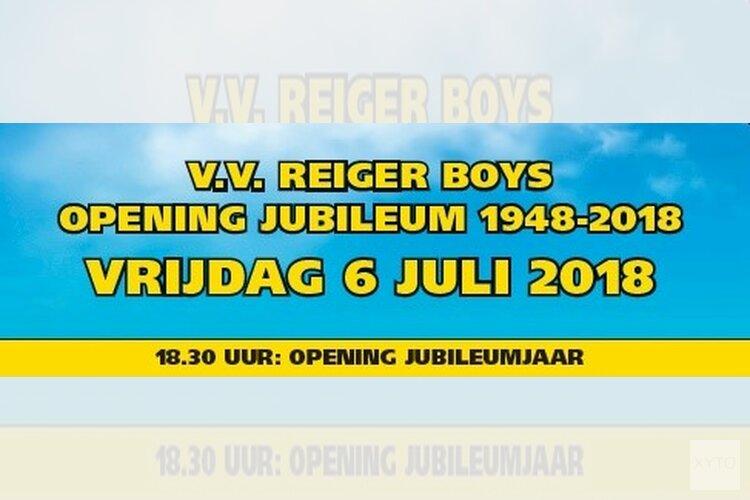 Komende vrijdag start jubileumfeest Reiger Boys