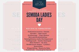 Op zaterdag 7 juli zal bij Grandcafé De Heeren de Semoda Ladies Day plaatsvinden