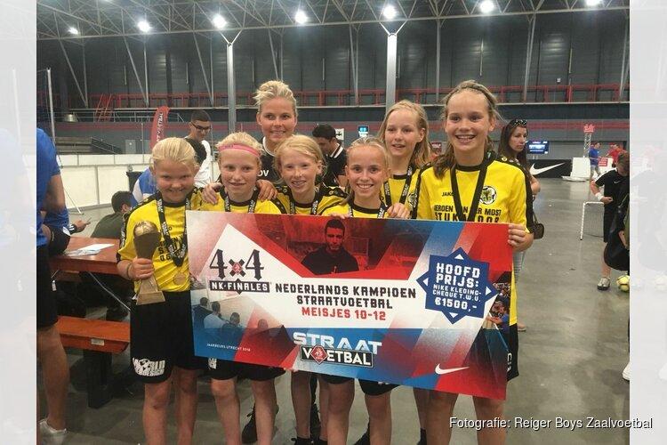 Reiger Boys MO11 Nederlands Kampioen Straatvoetbal