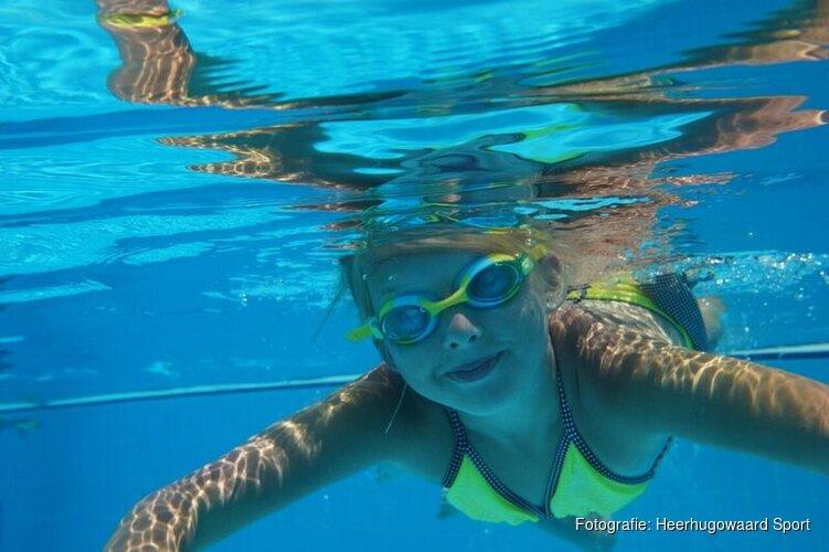 Zwem4daagse in Waardergolf