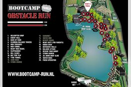 Parcours & obstakels bekend - Bootcamp Obstacle Run