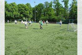 Walking Football op sportpark 'De Kabel'