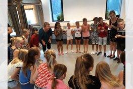 Kinderen basisschool De Zeppelin bedenken de ideale campingvakantie