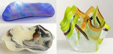 Atelier- en kunstdagen in Heerhugowaard met Glasfusion Artist Anne Hoogland