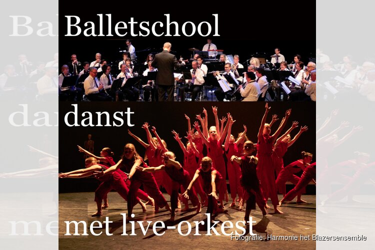 Balletschool danst met live-orkest op 15 september