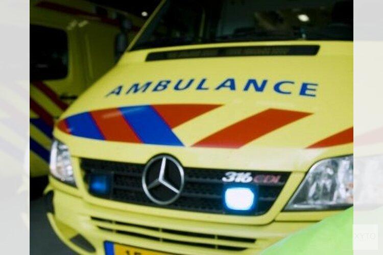 Vrouw gewond bij botsing N242