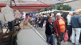 Gezellige drukte op 40e Jaarmarkt Heerhugowaard