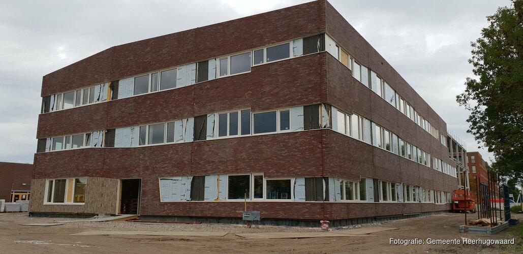 Nieuwbouw Huygens College vordert gestaag