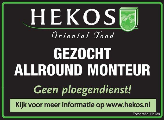 Gezocht: Allround Monteur bij Hekos Oriental Food