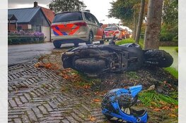 Getuigen gezocht van scooterongeval Spierdijk