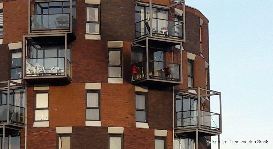 Uitslaande brand op 5e verdieping Bastion