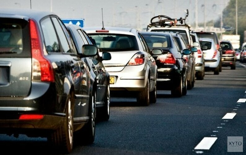 Opnieuw ongeluk A9 Beverwijk,  twee rijstroken dicht