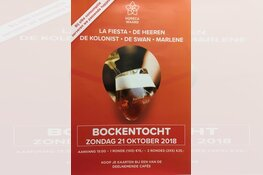 3e editie Bockentocht in Heerhugowaard Centrum