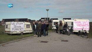 Waarom protesteren de woonwagenbewoners?