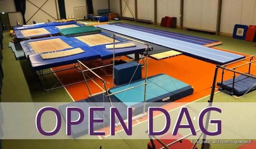 Zaterdag Open Dag SiU Heerhugowaard in nieuwe turnzaal