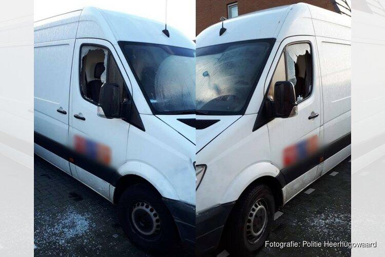 Bedrijfsauto tweemaal vernield: politie zoekt getuigen