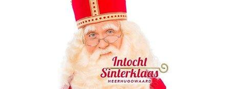 Intocht Sinterklaas op zaterdag 24 november 2018