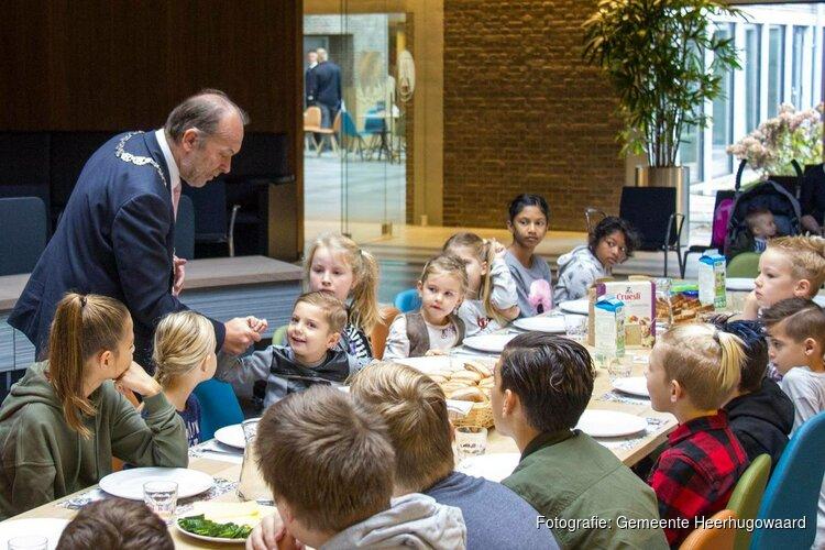 Ontbijten met de burgemeester, ...dat doe je niet elke dag..