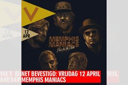 Net bevestigd: Memphis Maniacs in Podium Victorie