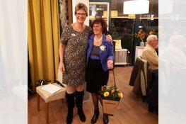 Mevrouw Assendelft al 40 jaar vrijwilliger bij de Pieter Raat Stichting