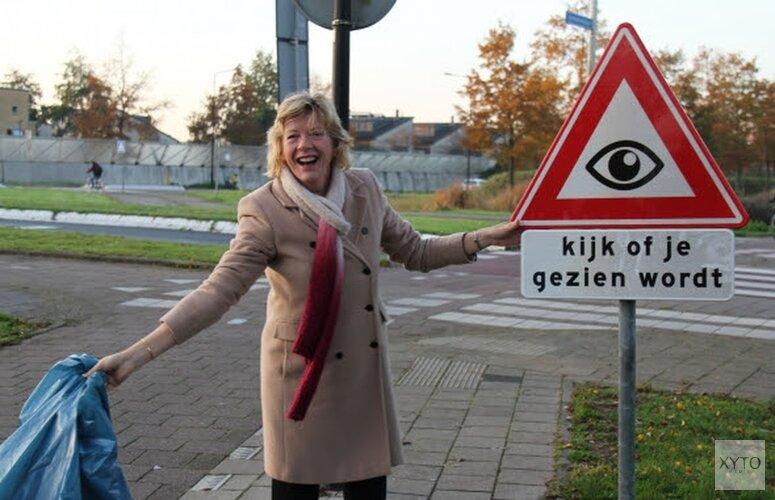 Nieuw verkeersbord onthuld in Heerhugowaard