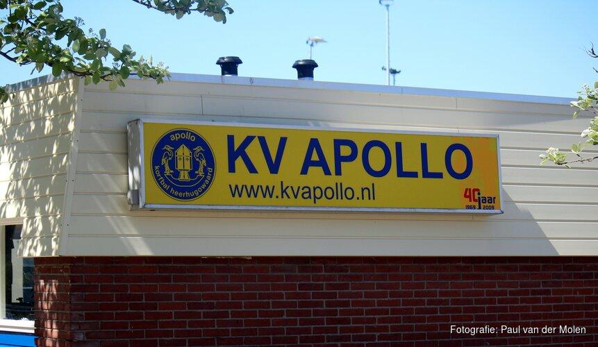 KV Apollo begint zaalseizoen met nederlaag