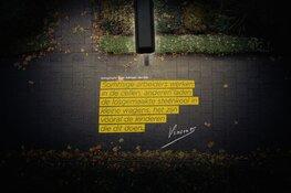Adriaan van Dis verlicht Heerhugowaard met citaat Vincent van Gogh