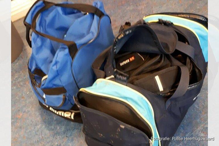 Diefstal tassen en kleding bij KSV