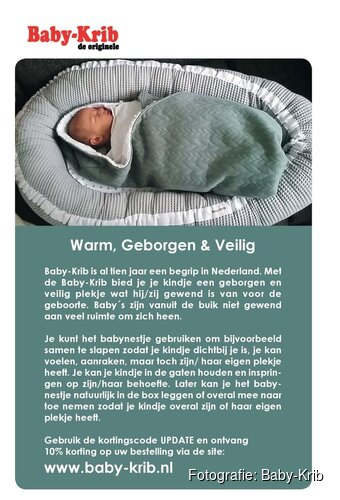 Warm, geborgen & veilig met Baby-Krib