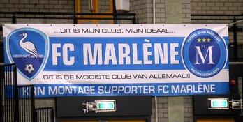 FC Marlène wint rommelig duel