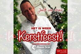 Nieuwe kerstsingle Joost de Vries is uit