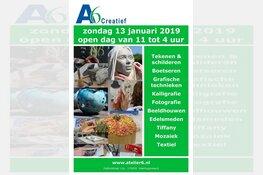 Open Dag bij Atelier 6 op 13 januari