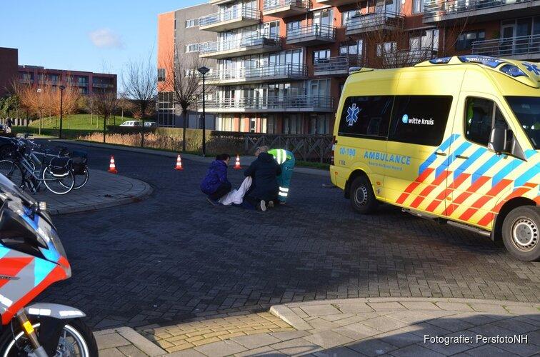Oudere vrouw gewond geraakt bij ongeluk Stad van de Zon