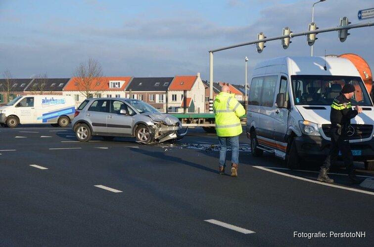 Flinke schade bij ongeval N242/Zuidtangent