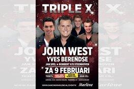 Zaterdag Triple XXL met John West, Yves Berendse, Jan Spel en Robbert van der Steenhoven