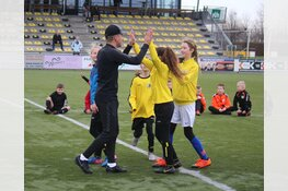 Nasser el Jackson laat kinderen genieten op voetbaldag